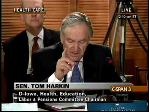 Tom Harkin: We all have our stories on health care.