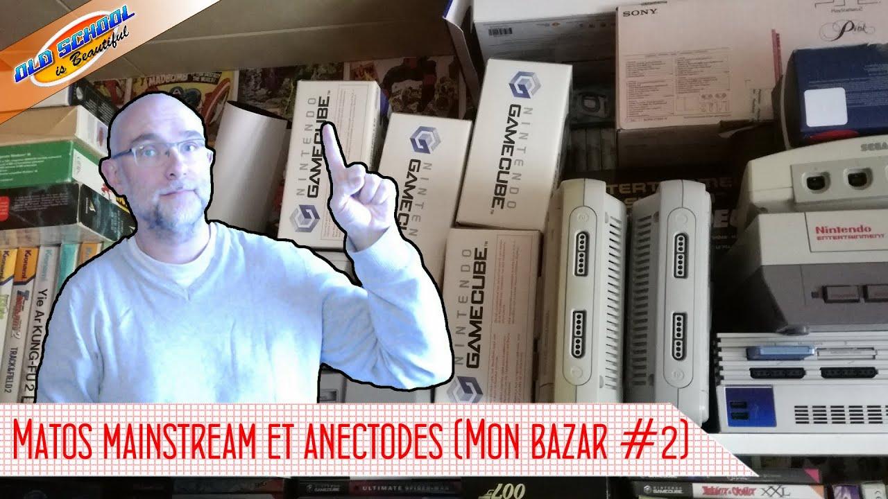 Des consoles et matos bien classique (Mon Bazar #2)