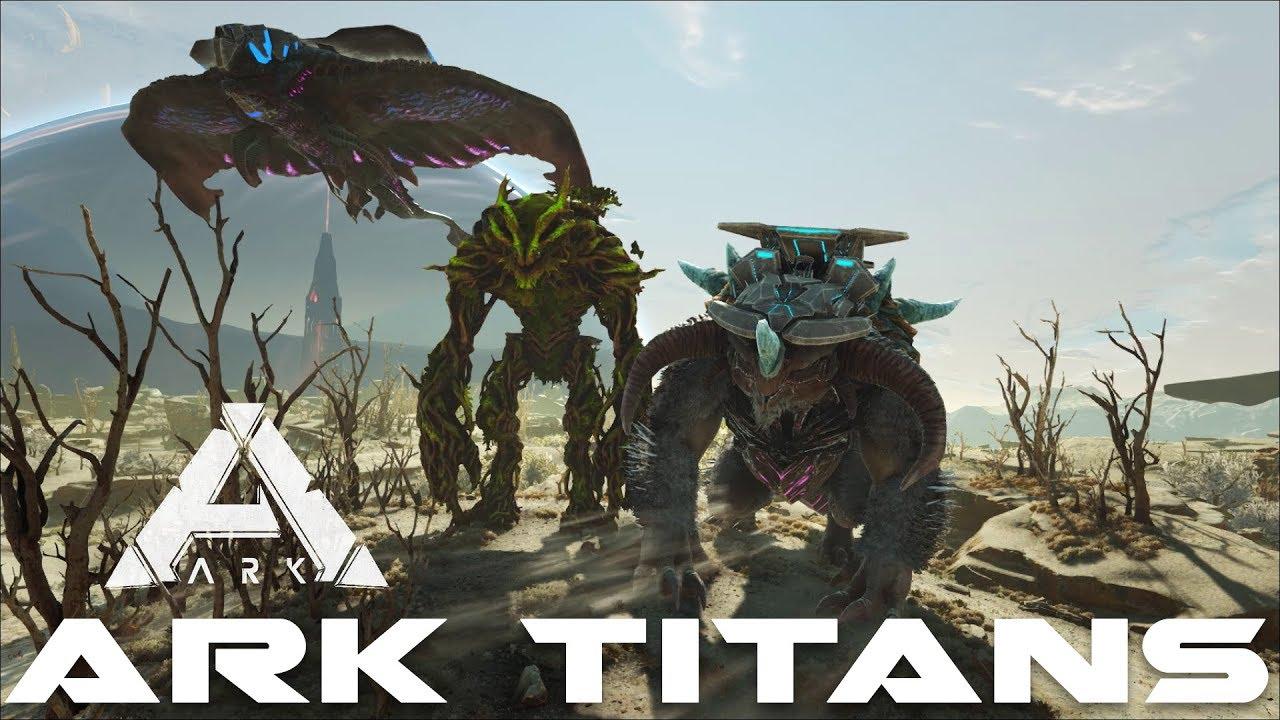 Ark TITANS (Desert, Forest & Ice) - Summon commands | Ark Extinction
