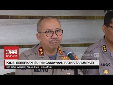 Polisi Beberkan Isu Penganiayaan Ratna Sarumpaet
