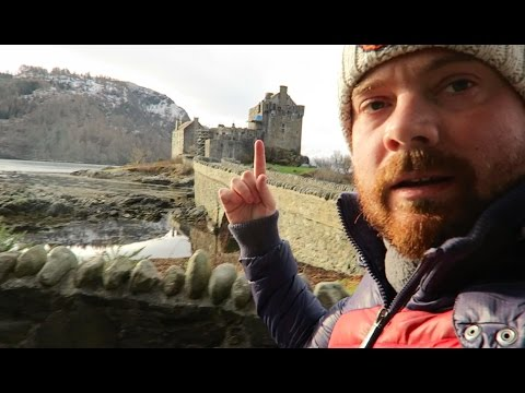 FLYING A DRONE OVER SCOTLAND'S MOST FAMOUS CASTLE