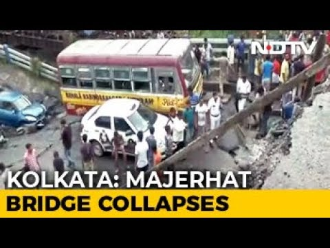 Kolkata Bridge Collapses, Rescue Teams On Spot