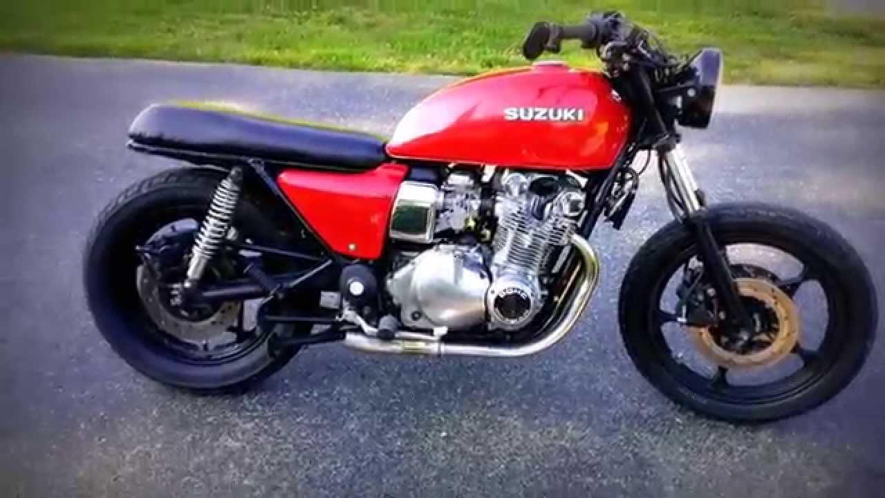 1985 Suzuki Gs550 Cafe Racer