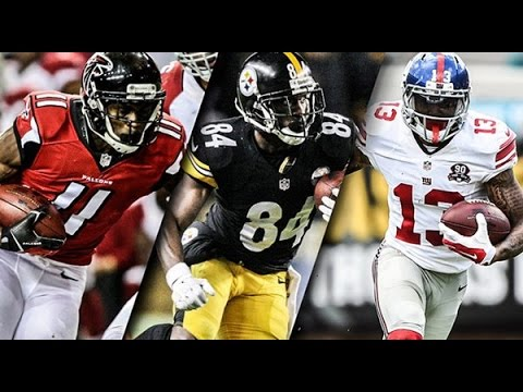 2016 NFL Player Rankings: Top 20 Wide Receivers - YouTube