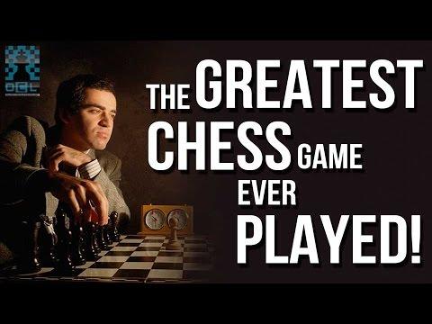 The GREATEST chess game of all time! - GM Roman Dzindzichashvili