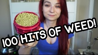 100 HITS OF WEED!!