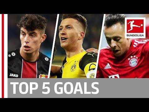 Top 5 Goals on Matchday 17 -  Reus, Havert, Rafinha & More