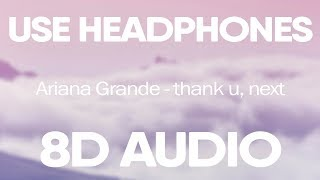 Gambar cover Ariana Grande – thank u, next (8D AUDIO)
