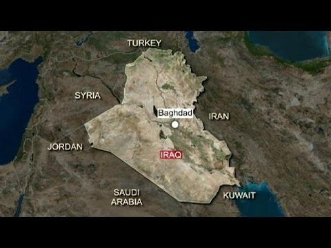 دستکم ۳۷ کشته در انفجار ۱۰ خودروی بمبگذاری شده در بغداد