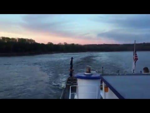 Sunset at Kaskaskia River mouth