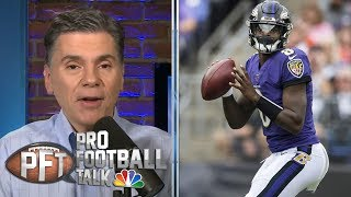 Why Baltimore Ravens' Lamar Jackson deserves more respect | Pro Football Talk | NBC Sports