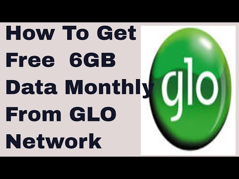 How You Can Enjoy Free 6GB Data Monthly from GLO Network
