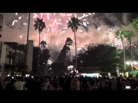 Villainy in the Sky Fireworks at Disney Hollywood Studios