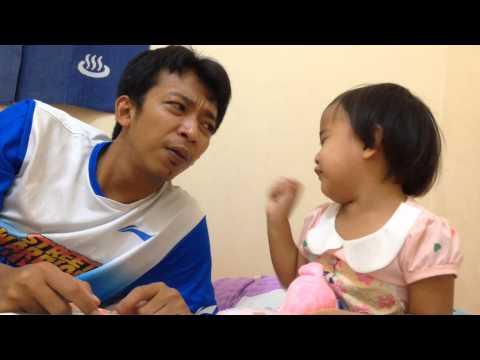 Anak Bermain sama Ayah - Keseharian Zara
