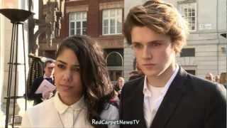Eugene Simon & Tasie Dhanraj Intervew - House Of Anubis Season 2 UK Premiere