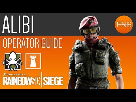 Alibi Operator Guide - Rainbow Six Siege