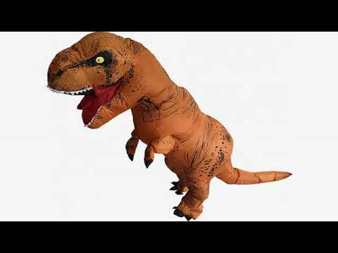 2017 halloween reviews heyma t rex costume inflatable dinosaur costume suit halloween adult infl