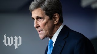 WATCH: John Kerry speaks at White House news briefing