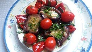 Очень легкий вкусный  Салат к шашлыку.
