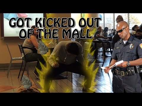 KID GOES SUPER SAIYAN IN PUBLIC! (KICKED OUT)