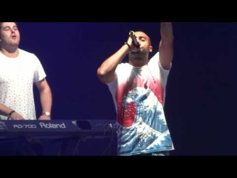 Rudimental - Waitin' All Night Live Key 103 Live Manchester MEN Arena July 28th 2013
