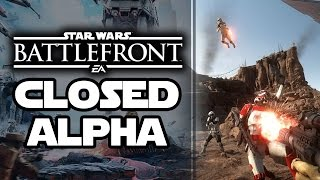 Star Wars Battlefront Closed Alpha, Those Leaks and That NDA! Battlefront vs Battlefield 4 Gameplay