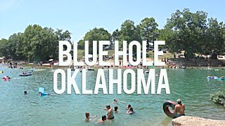 Blue Hole, Oklahoma: Fขll Time RV Traveling