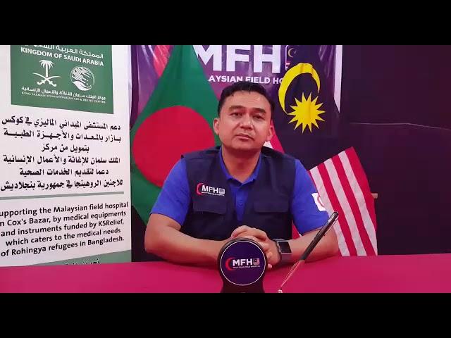 Ucapan Terima Kasih dari Wakil Hospital Medan Malaysia (HMM)
