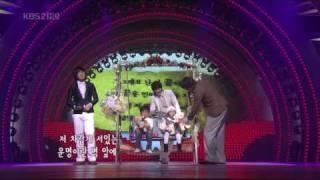 Se7en Eru Jaejoong LeeSeung preformance