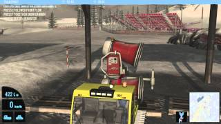 Snowcat Simulator 2011 Gameplay HD
