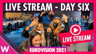 Eurovision 2021 Rehearsals livestream Day 6 (Malta and Semi-Final 2 San Marino - Greece)