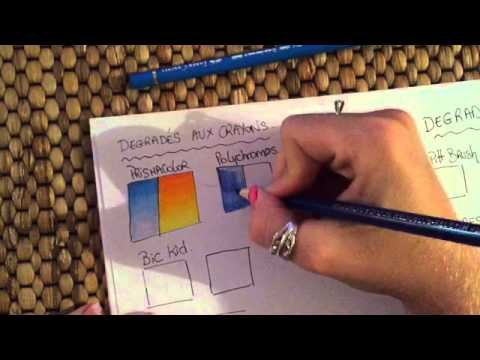Tutoriel d grad s aux crayons de couleur youtube - Tuto trousse crayons de couleur ...