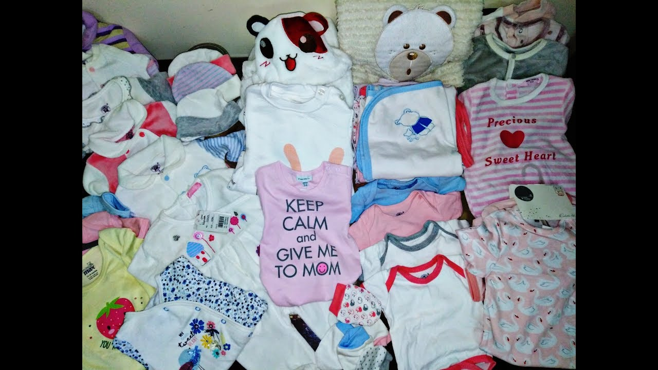 مشتريات وتحضيرات المولود الجديد من الملابس الجزء الاول