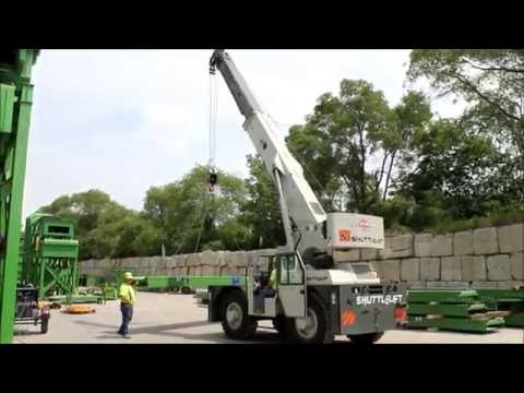 Stevenson Crane Featured Equipment: Shuttlelift 7755 Carry Deck Crane