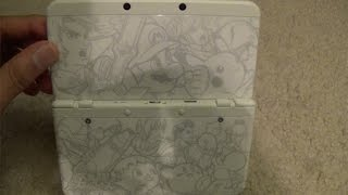 New 3DS: Smash Bros Cover Plate & Themes
