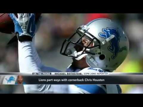 Chris Houston Cut By Detroit Lions