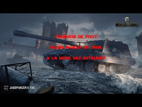 Un concours De foot sur World Of Tanks et le clan Army-of-smurf !