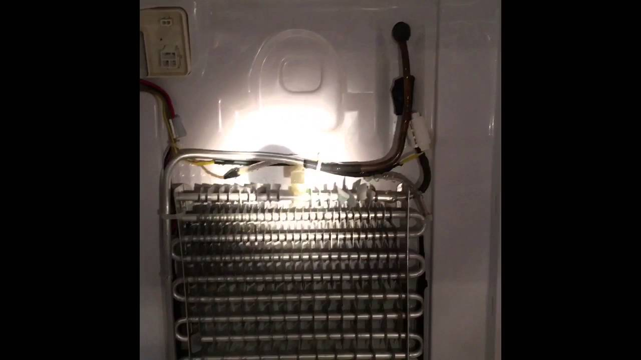 Repair To Samsung Refrigerator With Ice And Water