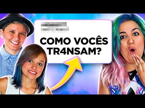 Perguntas para um CASAL de LÉSBICAS - Nunca Te Pedi Nada feat. Beijei Gostei