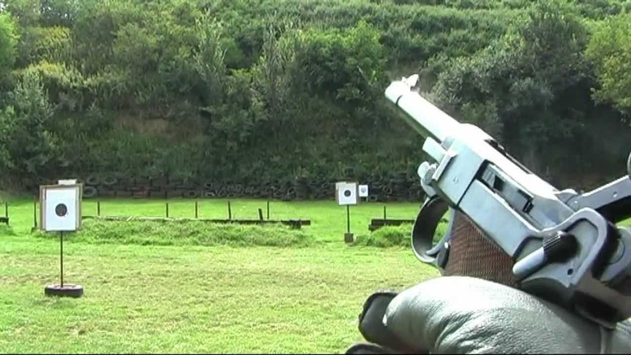 Shooting Luger P08 Parabellum 9mm Luger WWII pistol - G's HD Gun Show