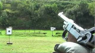 Shooting Luger P08 Parabellum 9mm Luger WWII pistol - G