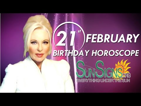 Birthday February 21th Horoscope Personality Zodiac Sign Pisces Astrology