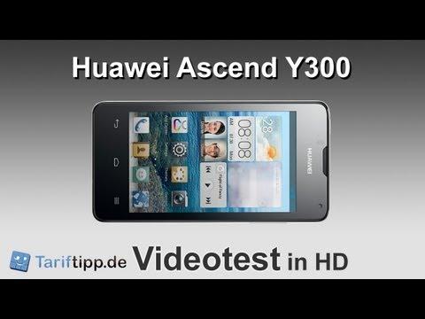 Huawei Ascend Y300 | Test in HD (deutsch)