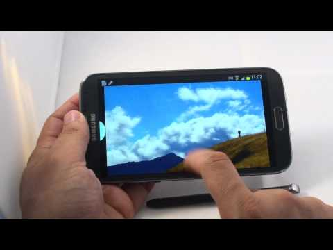 Samsung Galaxy Note 2 Multiview