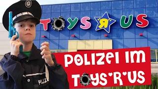 POLIZEI IM TOYS'R'US 🔫 🚔  Hände hoch, Überfall! Lulu & Leon - Family and Fun