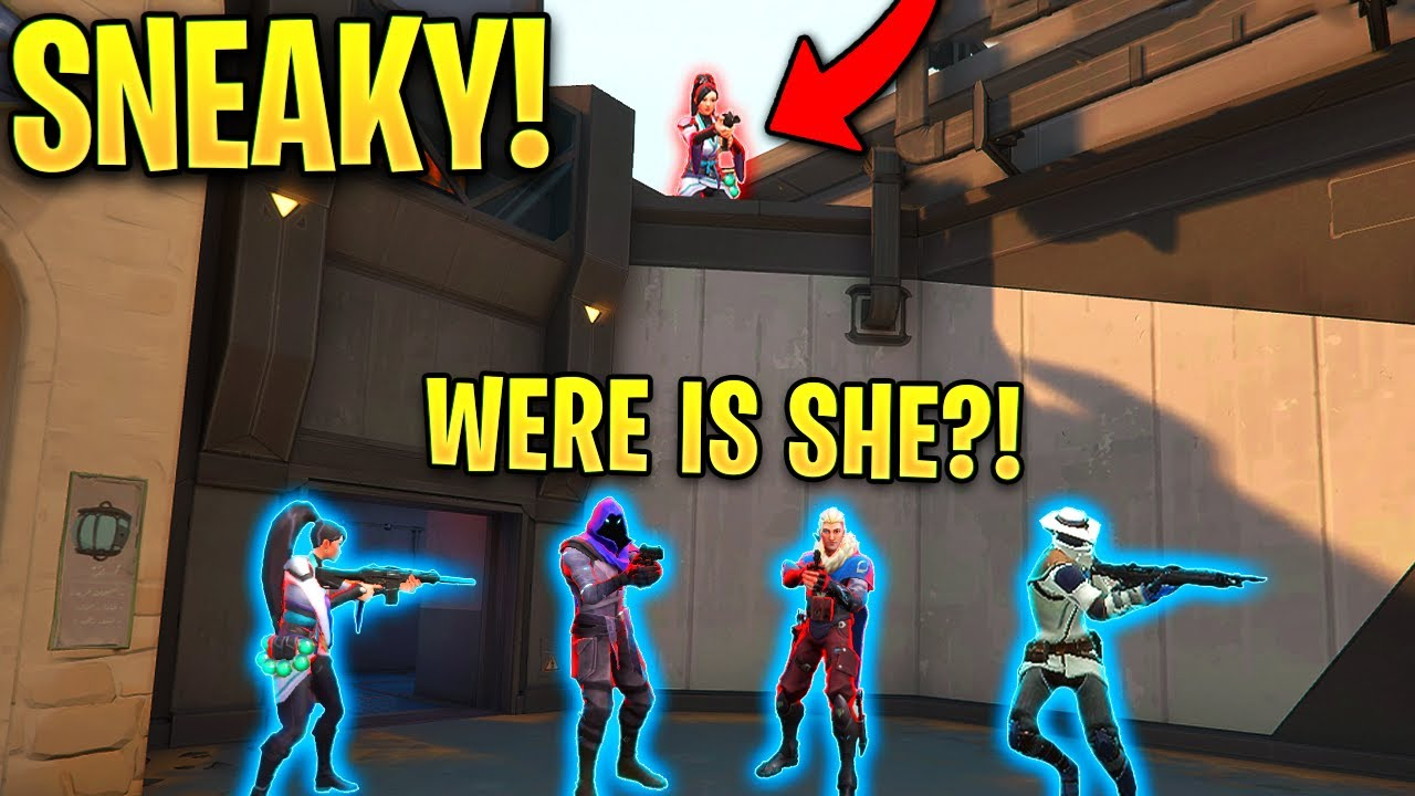 Valorant: When Pro Players get SNEAKY..! – Ninja Defuses & Silent Flanks – Valorant Moments Montage