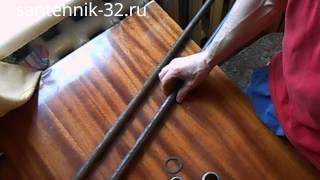 Ключи для сборки радиаторов отопления видео(В этом видео я покажу какие использовать ключи для сборки секций чугунных и биметаллических радиаторов..., 2014-02-14T11:21:19.000Z)
