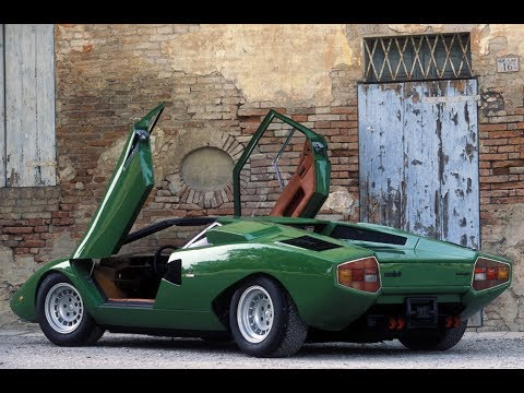Lamborghini Countach Lp400 Prototipo 1973 Concept Car Youtube