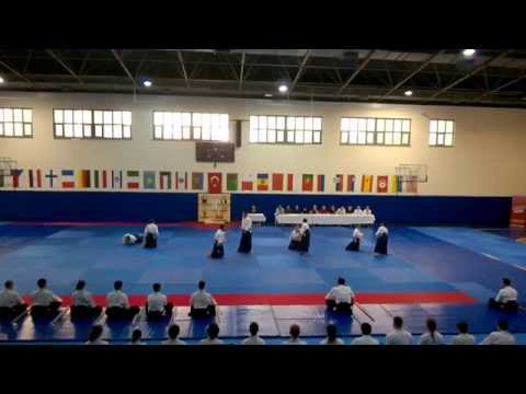 5. International Aikido Festival Dan Examination - Part 1