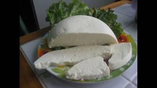 Домашний адыгейский супер вкусный сыр!!! Рецепт от мамы четверняшек!